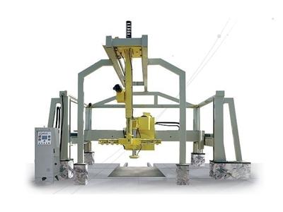 Mermer Blok Kesme Makinesi - Vakum Robotlu