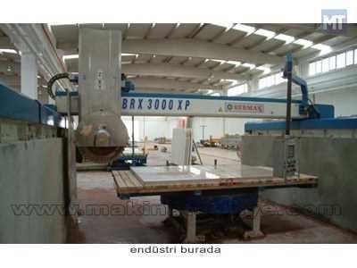 Mermer Granit Köprülü Kesme Makinesi / Sermak Brx 3000