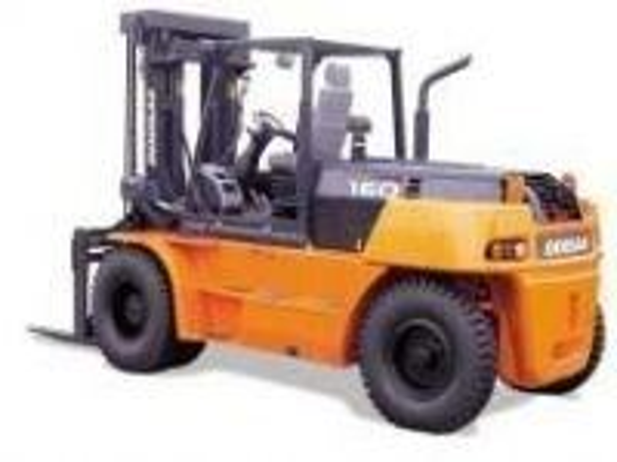 16 Ton Doosan Dizel Forklift / Doosan D160s