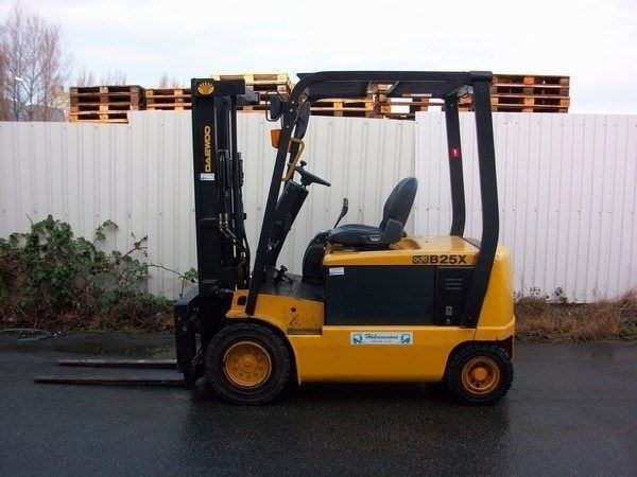 2,5 Ton Elektrikli Doosan Forklift / Doosan B25x Pro5