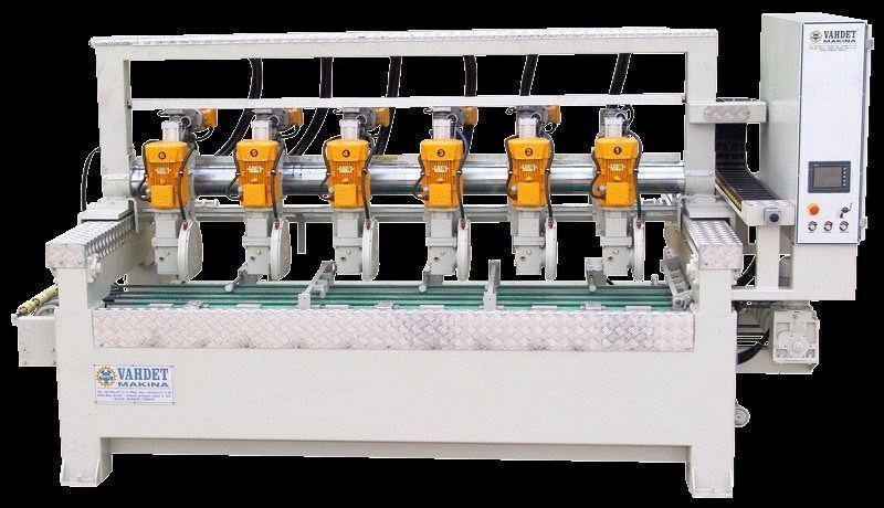 Mermer Çoklu Ebatlama Makinesi