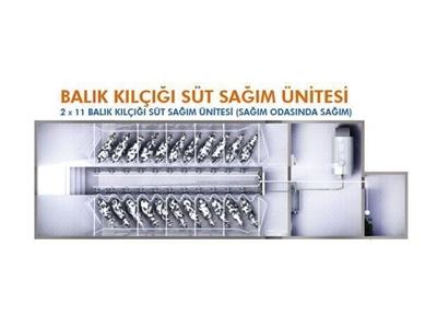 Süt Sağma Ünitesi / Çapar 2*11
