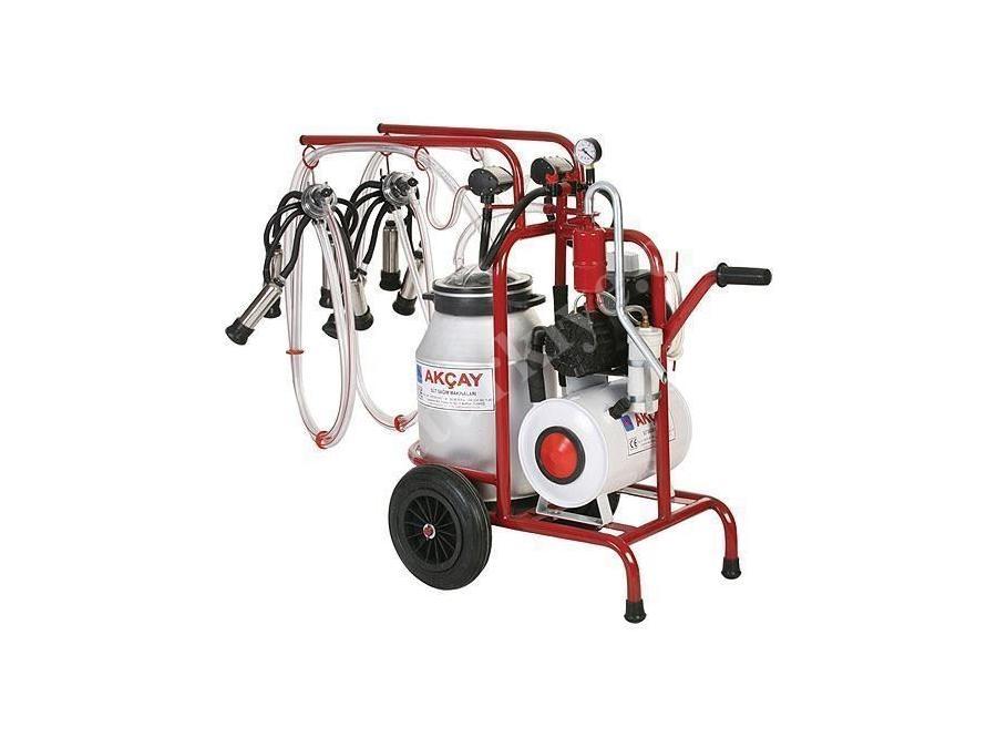 Çiftli Arabalı, Yağlı Motor Sistemli Süt Sağım Makinesi