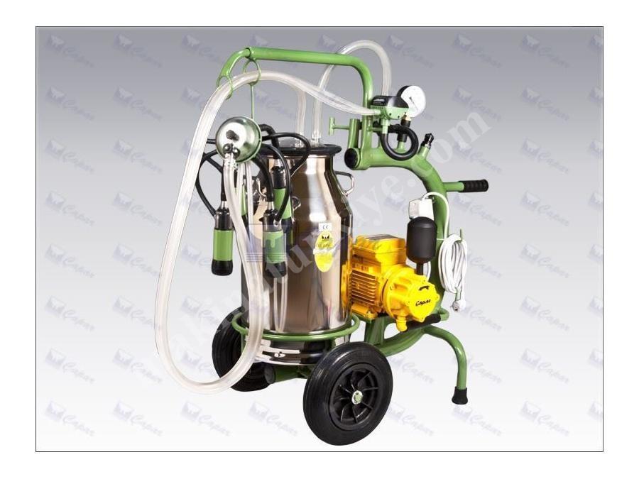 Tek Üniteli Tek Kovalı Süt Sağma Makinası / Çapar Albino-A001