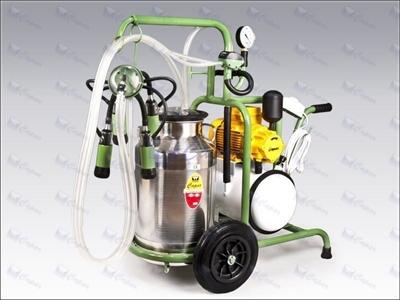 Tek Üniteli Tek Kovalı Süt Sağma Makinası / Çapar C001