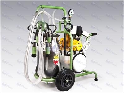Yağlı Tip Vakum Pompalı Süt Sağma Makinası / Çapar Cy001