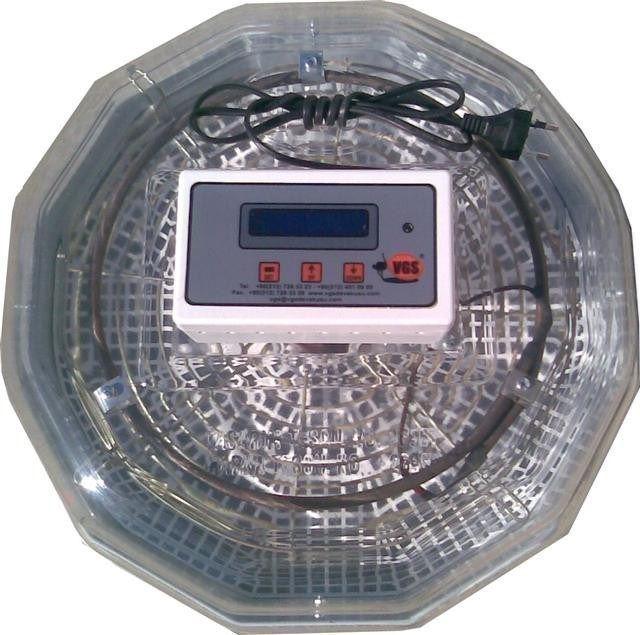 VGS KULUÇKA Tix-9 55 -70 Adet Tavuk Yumurtası Kuluçka Makinası