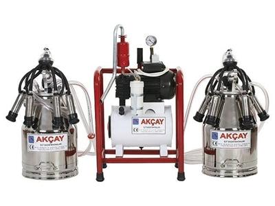 Çiftli Süt Sağım Makinesi Yağlı Motorlu