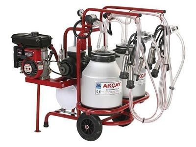 Çiftli Araba, Benzinli, Çift Güğüm Süt Sağım Makinesi