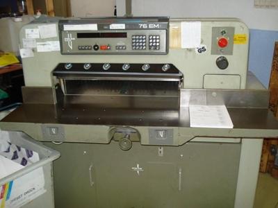 Kesim Makinası 1987 Model / Polar 76 Em