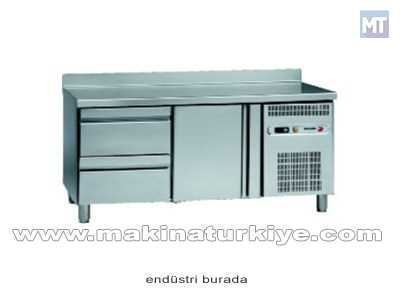 2 Çekmeceli Tezgah Tipi Buzdolabı 255 Lt. / Snack Msp-150-2c