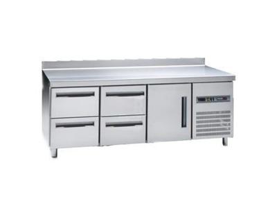 4 Çekmeceli Tezgah Tipi Buzdolabı 395 Lt. / Snack Msp-200-4c