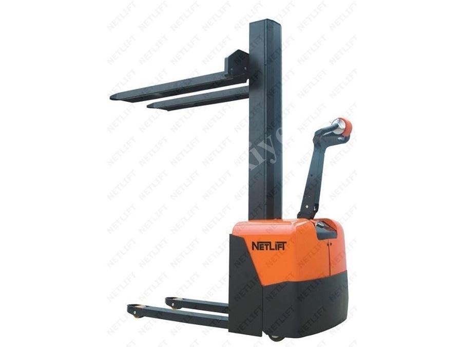1 Ton Yaya Kumandalı Akülü İstif Makinesi / Netlift Nl Cme 10-20