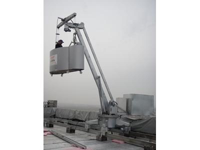 Dış Cephe Temizlik Asansörü / Hedef H-A-001