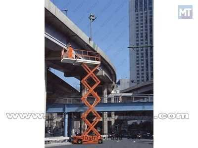 12 Mt Onmi Sistemli Akülü Makaslı Platform / Netlift Nl Jcpt 1213 Od