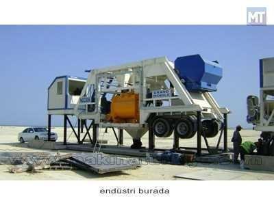 100 M3 Mobil Beton Santrali