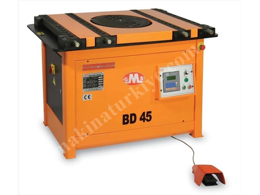 Demir Bükme Makinası / Gms Bd 45