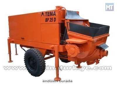 Sabit Beton Pompası 30 Kw