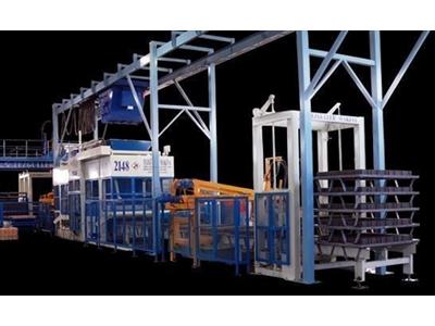 Full Otomatik Beton Parke Taşı Makinesi