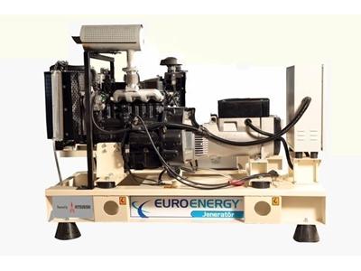 Dizel Jeneratör 11 Kva Mitsubishi Motorlu / Euroenergy Emg 11