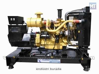 Dizel Jeneratör 165 Kva Sdec Motorlu / Euroenergy Edcg 165