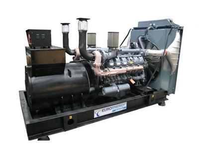 Dizel Jeneratör 630 Kva Man Motorlu / Euroenergy Emng 630