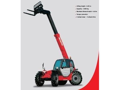 Manitou MANİSCOPİC MT 620 Teleskopik Forklift