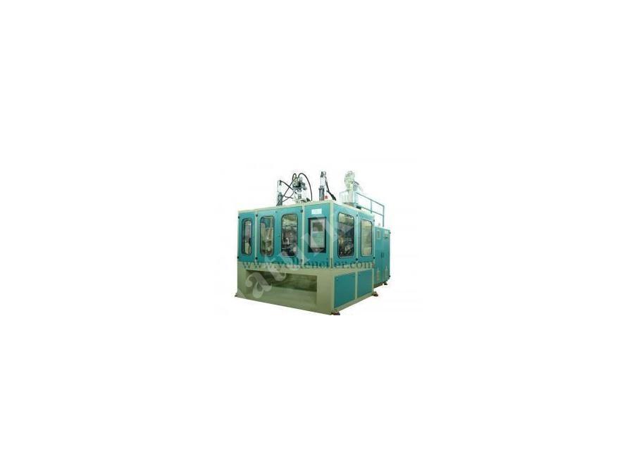 Çift İstasyon Plastik Şişirme Makinası