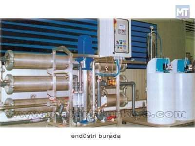 Endüstriyel Tip Reverse Osmos Sistemi / Zetaş R.O Hd3