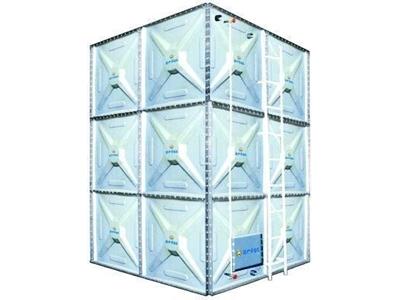 Prizmatik Modüler Su Deposu ( 7500 Litre )