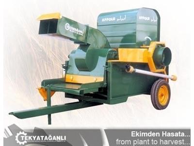 Kombine Elemeli Helezonlu Harman Makinesi / Appolu Tyd-01