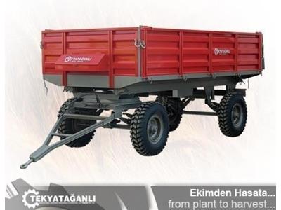 Damperli Römork 4 Ton / Tekyatağanlı Tyt 401 Skd1
