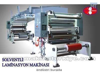 Solventli Laminasyon Makinası