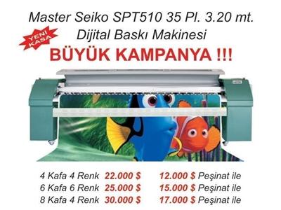 Renkli Dijital Baskı Makinası / Master Seiko