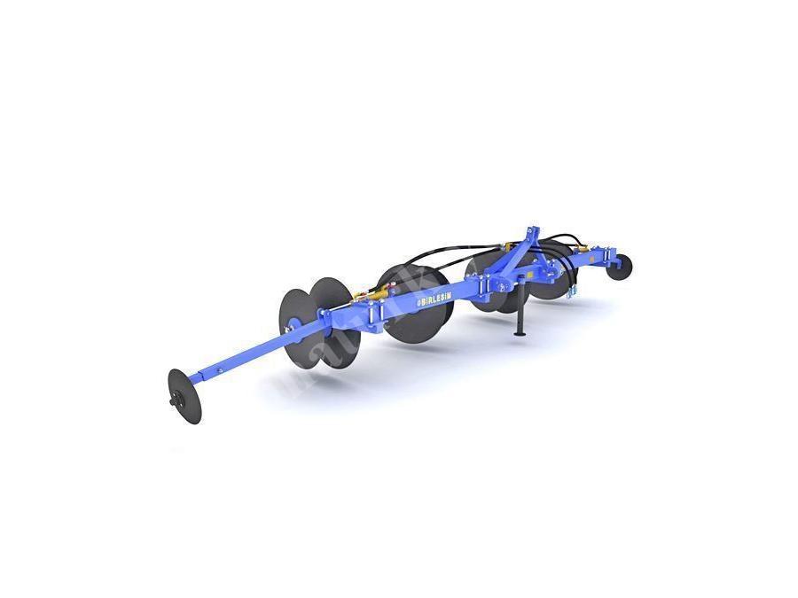 Çiftli Çizecekli Diskli Set Yapma Makinesi - 680 Cm