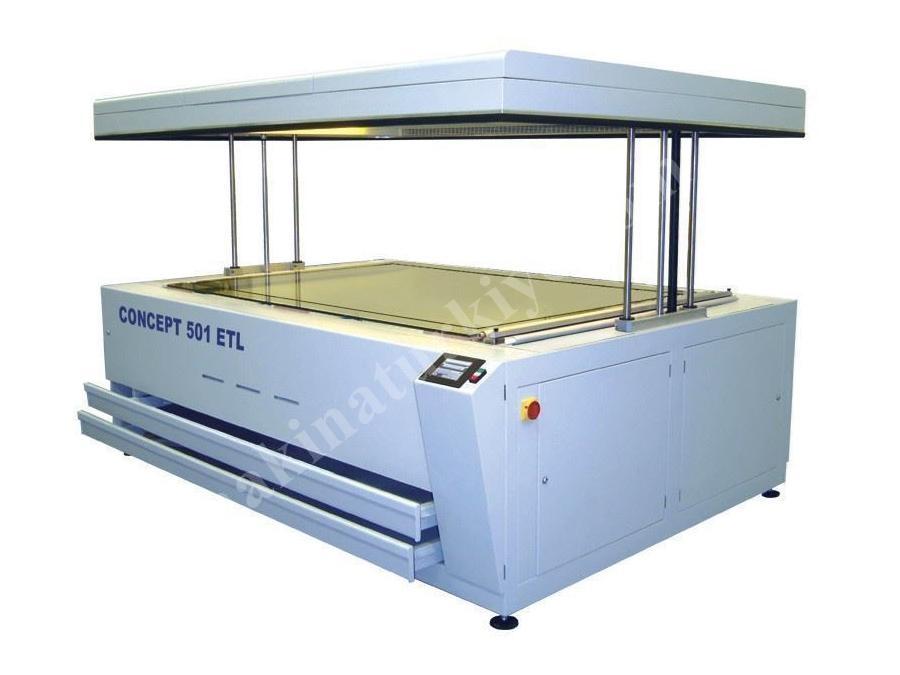 Kalıp Pozlama Makinası - Çift Taraflı ( 132 X 203 Cm )