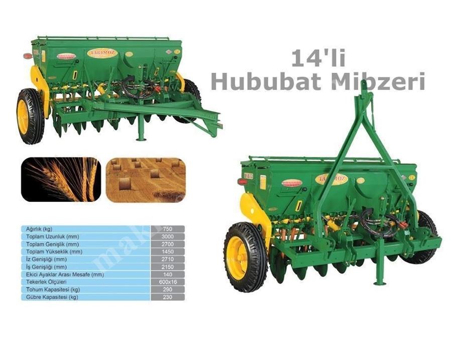 14 Li Hububat Mibzeri / Tarım Öz 14 Lü