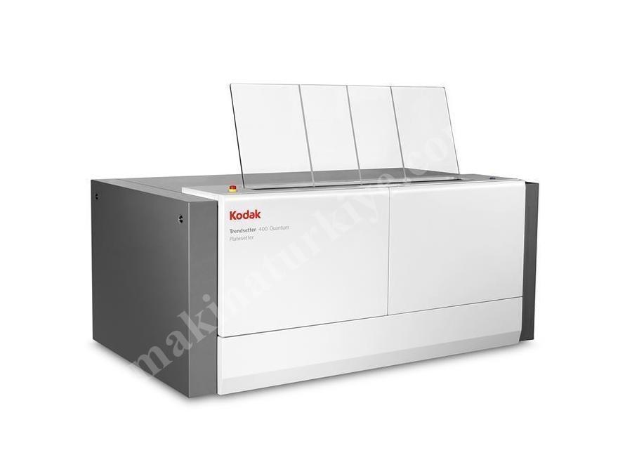 Yüksek Hızda Kalıp Pozlandırma Makinası / Kodak Trendsetter 400 Quantum