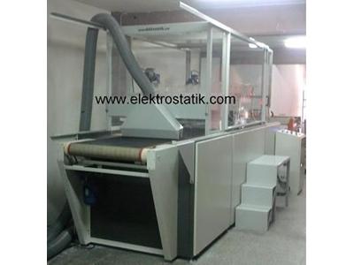 Kağıt Floklama Makinası ( 8 m /dak )