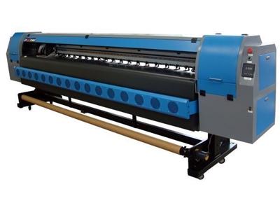4 Renk Solvent Baskı Makinası / Partner Km 1804