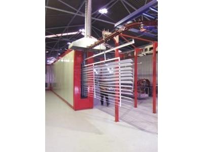 Tünel Tipi Toz Boya Fırını / İstanbul Elektrostatik Tf 18