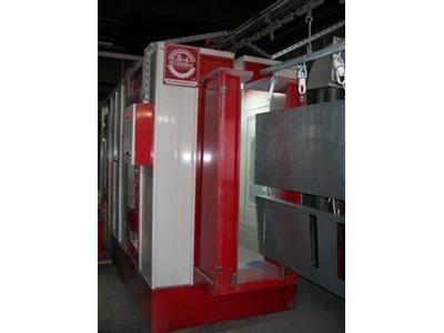 Siklonlu Toz Boya Kabini / İstanbul Elektrostatik Sk-5