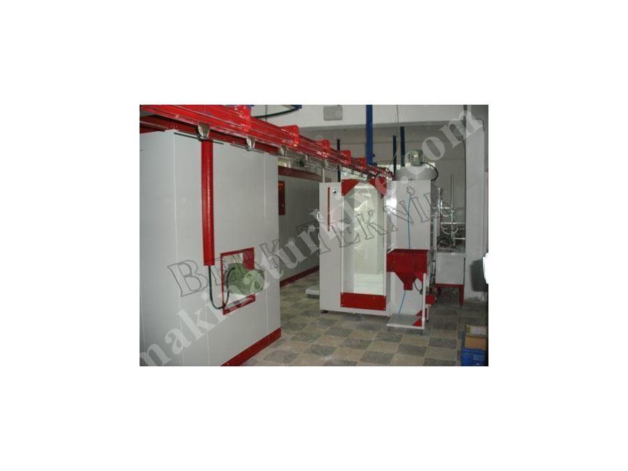 Tünel Tipi Pişirme Fırını / Berk Teknik Auto Line