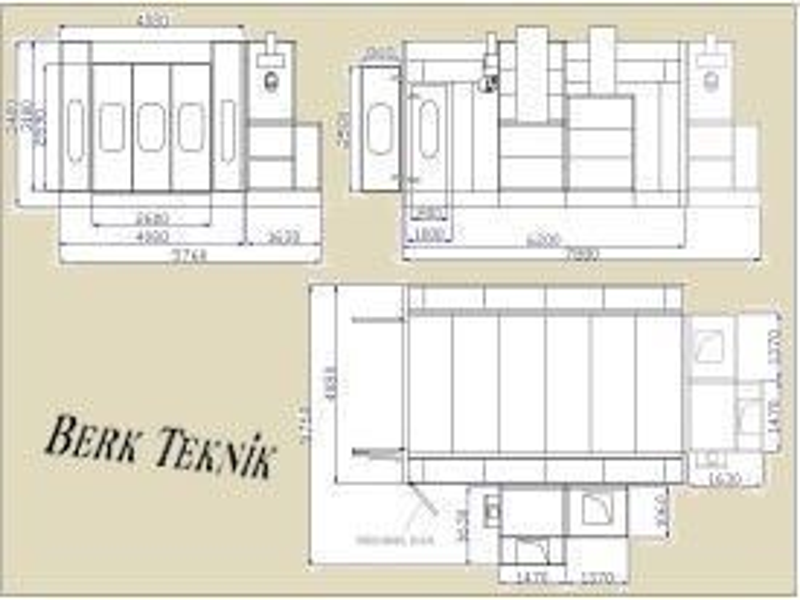 Oto Boyama Kabini / Berk Teknik Fbk 7000