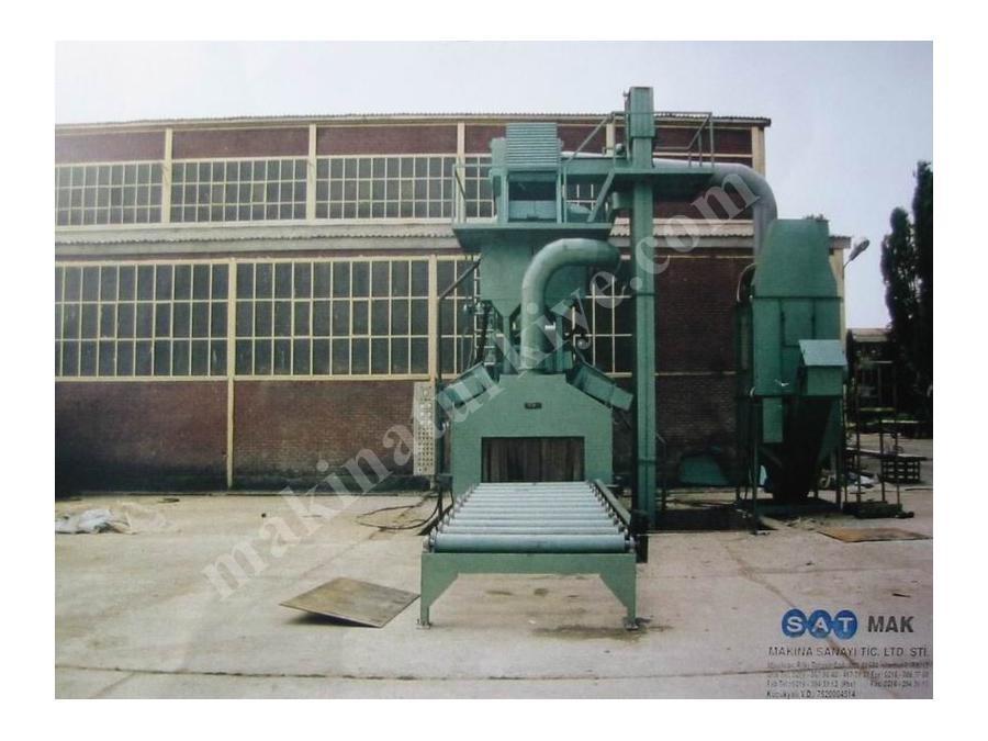 Sac- Profil Kumlama Makinesi