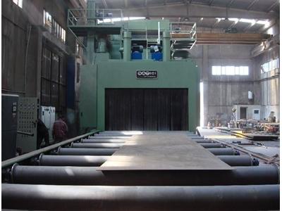 Sac- Profil Kumlama Makinesi Satıcı SAT 3000x1500 TTN16
