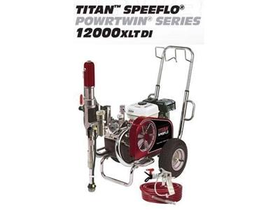 Benzinli Hidrolik Boya Makinesi 9 Hp / Titan Speeflo Powrtwın 12000xltdı