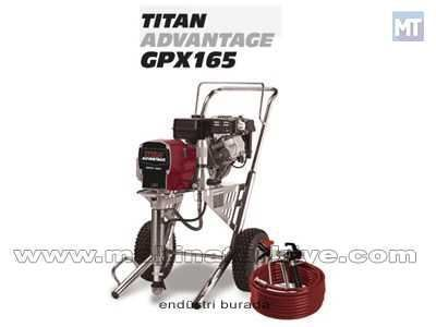 Benzinli Boya Makinesi 7 Hp / Titan Advantage Gpx165