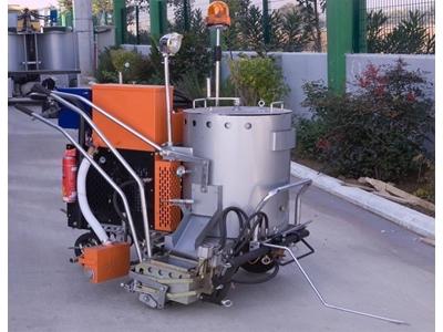 Termoplastik Yol Çizgi Makinası - 90 kg