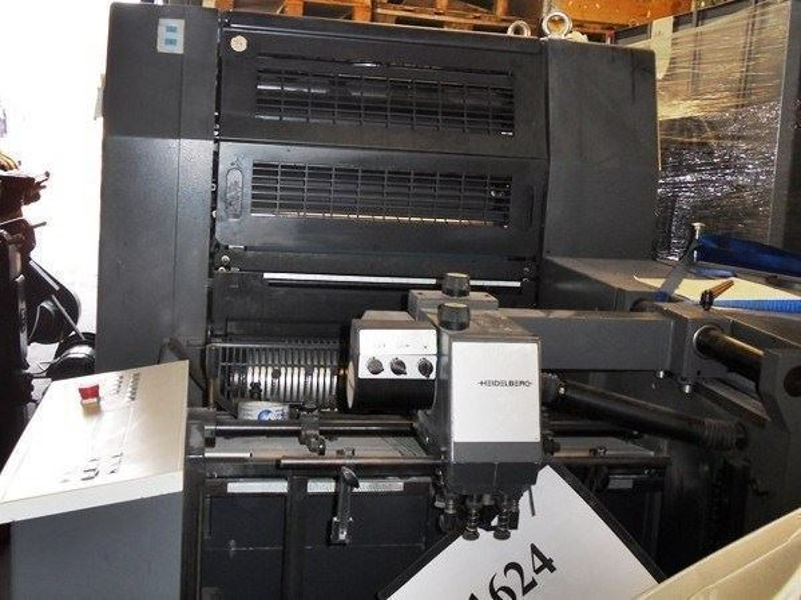2 Renk Tabaka Ofset Baskı Makinası / Heidelberg Speedmaster Sm 52-2